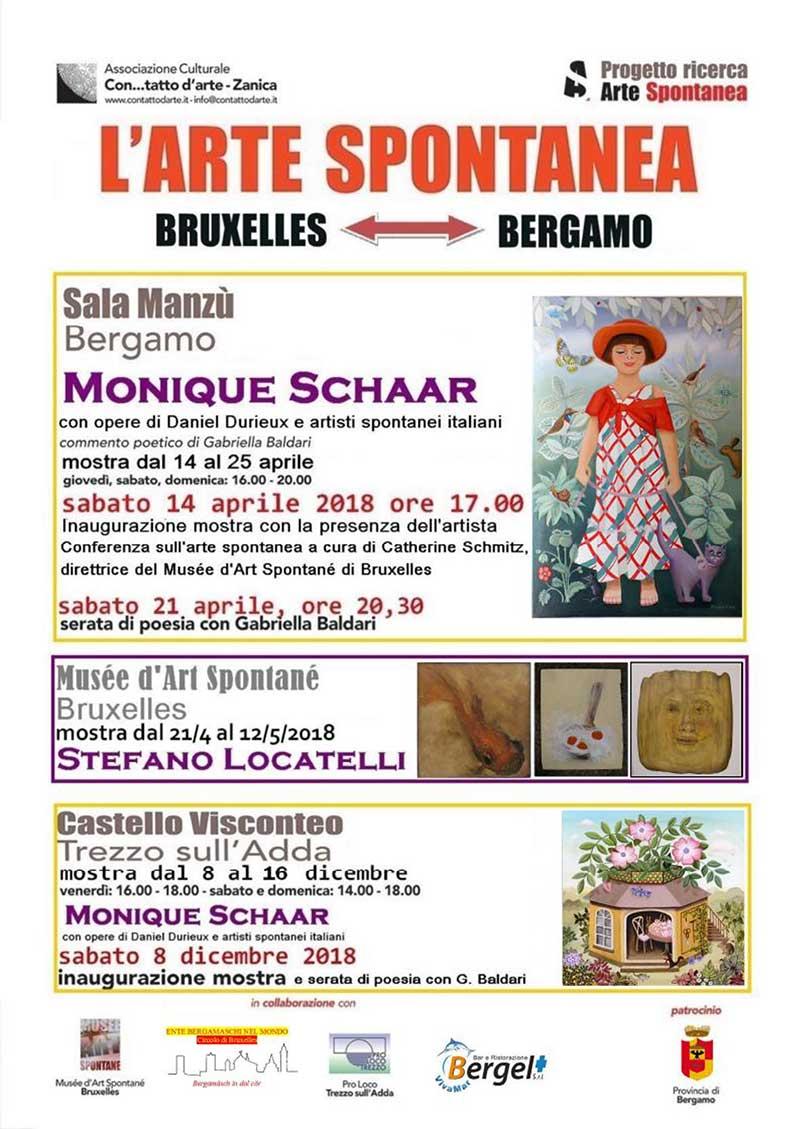 L'arte spontanea da Bruxelles a Bergamo – Iniziative