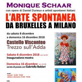 """L'Arte Spontanea da Bruxelles a Milano 2018"""